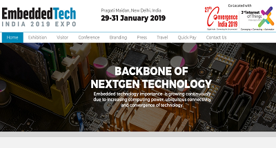 Embedded Tech India 2019 Expo