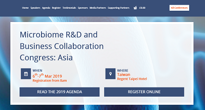 5th Microbiome R&D and Business Collaboration Congress: Asia