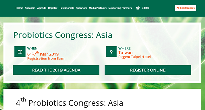 4th Probiotics Congress: Asia