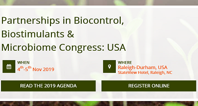 Partnerships in Biocontrol, Biostimulants & Microbiome Congress: USA