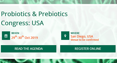 4th Probiotics & Prebiotics Congress: USA