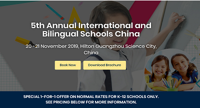 5th Annual International and Bilingual Schools China